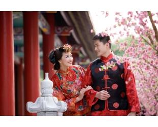 Китай. Свадебная церемония в отеле Marriott Resort & Spa 5*